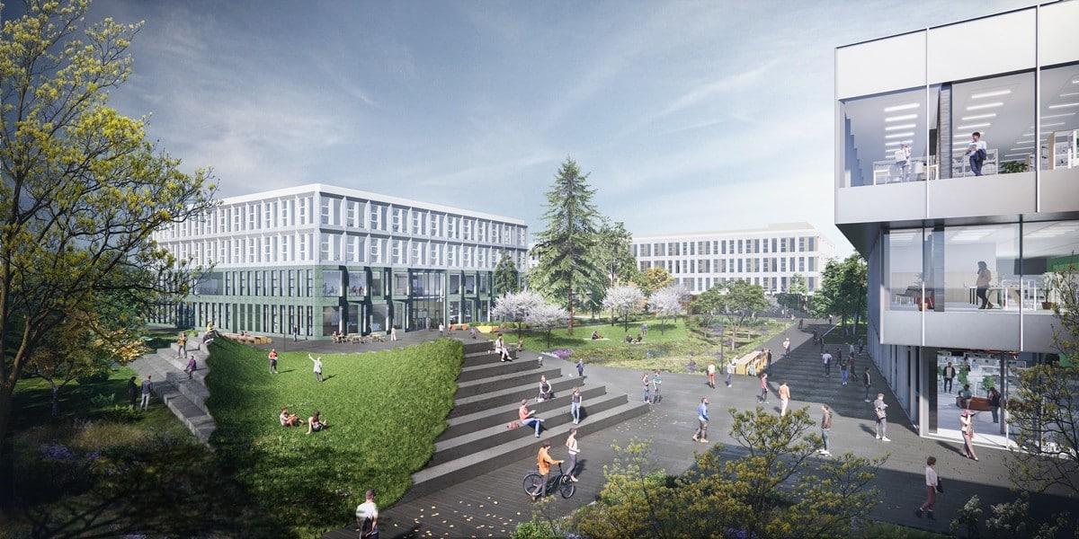 Fontys campus wordt inspirerende en duurzame onderwijsomgeving